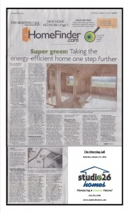 Super Green: Taking the Energy-Efficient Home One Step Further